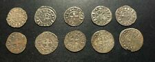 Medieval Silver Hammered Coins:  Numismatic Researchers (Lot of 10) #1