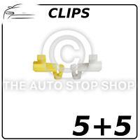 Door lock Rod Clip 4 MM Renault Avantime/Clio/Captur etc 1277  Quantity 5 + 5