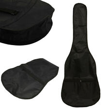 New Protable 38 inch Nylon Gig Bag Case for Electric Acoustic Guitar Black