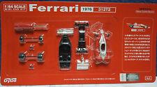 FERRARI 312 T2 1976 NIKI LAUDA F1 FORMULE 1 N°1 rouge Kit 1/64 Dydo Kyosho