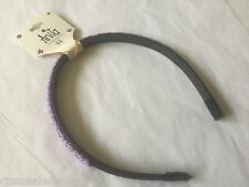 Anita Head Hairband Girls Purple Beaded 2277