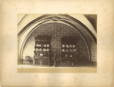 France, Sens, Salle  Vintage albumen print.  Tirage albuminé  15x20  Circa
