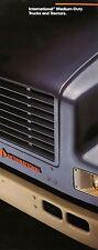 Prospekt International Medium Duty Trucks Tractors 1992 brochure 4000 7000 4600