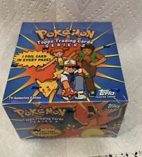 Topps Pokemon Trading Cards TV Animation Edition Series 2 Sealed Box 36 Packs