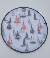 Vintage Nautical Style Melamine Picnic Serving Tray