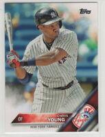 2016 Topps Baseball New York Yankees Team Set