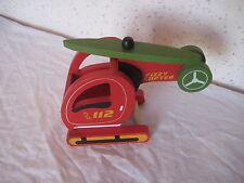 Jouet en bois Hélicoptère de pompier Fizzy Copter