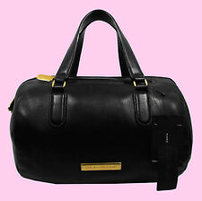 MARC JACOBS LUNA Black Leather Satchel Shoulder Bag Msrp $458 *FREE SHIPPING