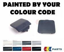 BMW E60 M Sport Paraurti anteriore + posteriore occhio di traino Gancio Coperchio dipinto da il tuo colore