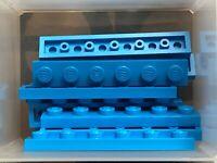 bright blue 6 x LEGO 3666 Plaque bleu Plate 1x6 NEUF NEW