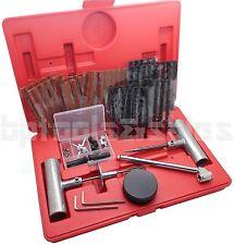80Pcs Tire Repair Kit DIY Flat Tire Repair Car Truck Motorcycle Home Plug Patch