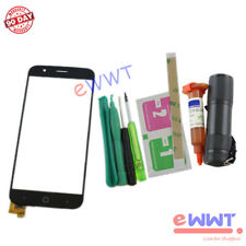 "Replacement Black Touch Screen +UV Glue for Vernee Thor 5"" Dual Sim 2016 ZVLU482"