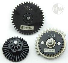 Airsoft high speed 13:1 gear set série m ak V2 V3 qualité acier boîte rouages