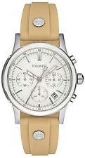 DKNY Khaki Silicone Chronograph Ladies Watch NY8174