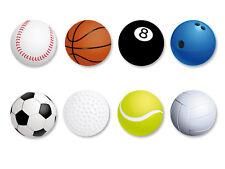 Lot Magnet Aimant Ø38mm Jeux Sport Game Competition Sportif Balle Ballon Ball