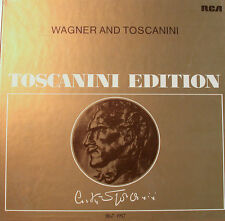 """WAGNER UND TOSCANINI TOSCANINI EDITION RCA-AT400-12"""" LP  [k358]"""