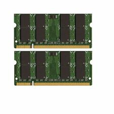 New 8GB 2X4GB PC2-5300 DDR2-667 667MHz 200pin Sodimm Laptop Memory Module RAM