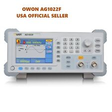 OWON AG1022F Arbitrary Waveform Function Generator + 200M Counter 25Mhz 2chs FM