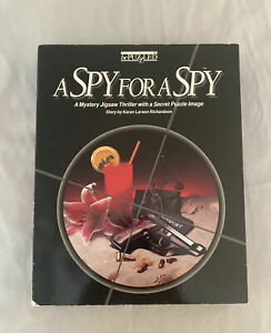 Vintage 90s - A Spy for A Spy - Puzzle Party Game 500 Piece w/ Booklet Mystery