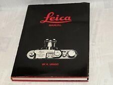 Leica Manual Camera Book Japan Limited Rare