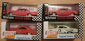 Racing Collectables 1/64 Legends Series Lot of 4 Foyt 27 Gurney 0 Yarborough 52