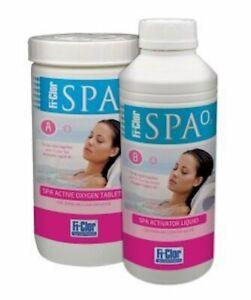 Fi-Clor Spa Active Oxygen System Liquid Activator 1 litre Spa, Pool, Hot Tub