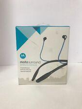 Moto Surround Wireless Earbuds Motorola Bluetooth 89807N Headset. New