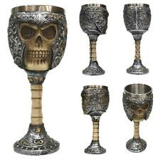 3D Goblet Bones Skull Mug Gothic Helmet Knight Tankard Dragon Drinking Cup