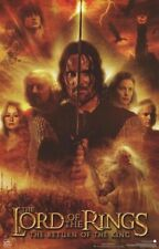 Lord Of Rings ~ Return King Glow Cast Movie Poster