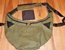 Falconry Codura Bandolero Green bag, Side, Hawking & Hunting Bag Free Meat Pouch