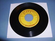 """CARL PERKINS """"MATCHBOX"""" ROCKABILLY SUN-261 EXCELLENT ORIGINAL 1st 45 RPM"""