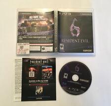 Resident Evil 6 (Sony PlayStation 3, 2012)