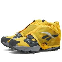 Reebok Instapump Fury OG Trail Shroud Grey Yellow UK 7 US 8 Classic RRP £160
