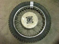 1971 honda sl350 h908~ rear wheel rim w sprocket