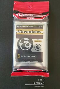 Panini Chronicles 2020-2021 Soccer  Fat Cello Pack - 15 Cards Per Package
