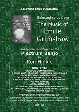 PLECTRUM BANJO SOLOS FROM THE MUSIC OF EMILE GRIMSHAW. COMPLETE WITH CD.