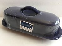Blue Chantal Stoneware Ceramic Covered Butter Dish  New