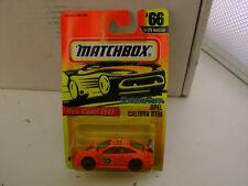 1996 MATCHBOX SUPERFAST #66 RACING 33 OPEL CALIBRA DTM RALLY CAR NEW ON CARD