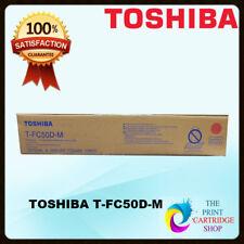 & Original Toshiba T- Fc50d-m Magenta Toner Cartridge E Studio 2550c 2555c