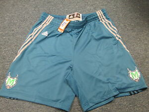 ADIDAS AUTHENTIC WNBA MINNESOTA LYNX REVOLUTION 30 ROAD GAME SHORTS SIZE 2XL