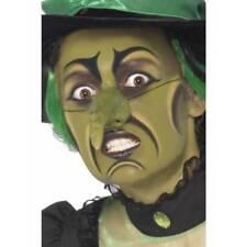 Complementos de brujas color principal verde para disfraces y ropa de época