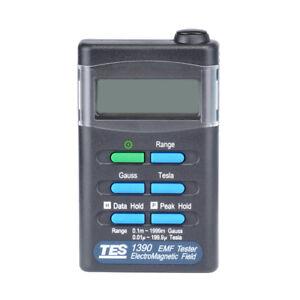 Gauss Electromagnetic Field Meter NEW TES1390 EMF Tester