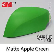 Genuine 3M 1080-M196 Matte Apple Green Vinyl Car Wrap 1.52m X 1.8m