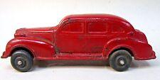 Auburn Rubber 1937 OLDSMOBILE 4 Door car DARK RED