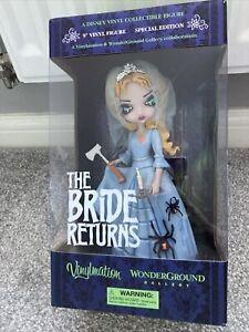 Disney parks the haunted mansion vinylmation The bride returns from wonderground
