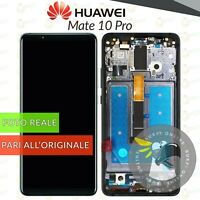 DISPLAY HUAWEI MATE 10 PRO OLED AMOLED BLA-L09 L29 FRAME TOUCH SCHERMO NERO