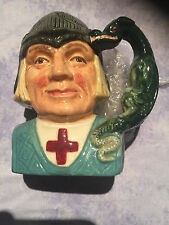 Rare Character Toby JUG Royal Doulton ST GEORGE D6621 England small