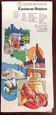 1980's Rand McNally Eastern States USA Road Maps OldPaperMaps.com