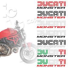 Adesivi Ducati Monster Serbatoio Duoline Old Style Desmo Racing