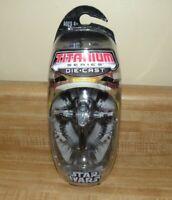Star Wars Titanium Firepray Interceptor w/display Die Cast MIB mint sealed 2006